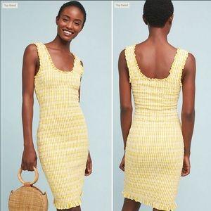 Anthropologie sonya smocked dress